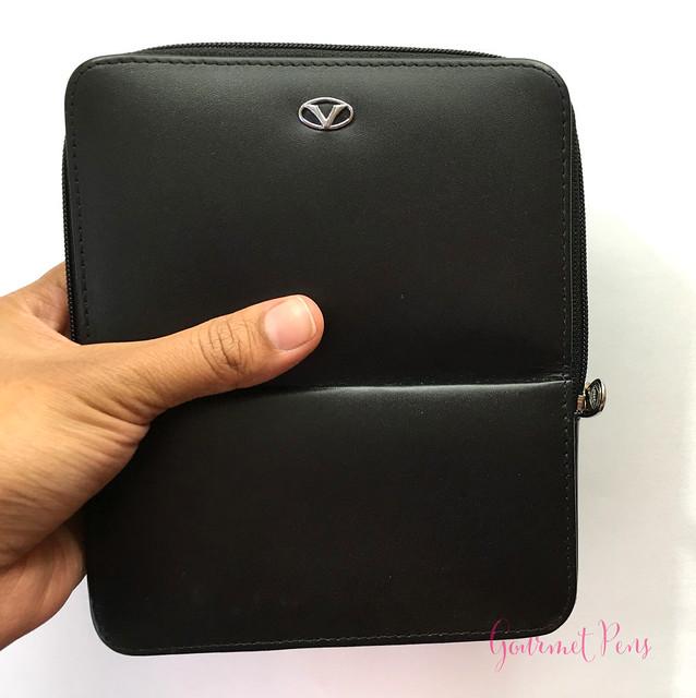 Visconti Zippered Leather Pen Cases @AppelboomLaren @CouronneduComte 11