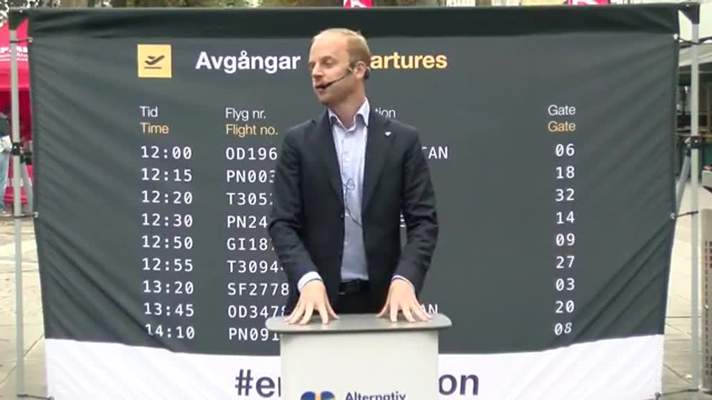 Gustav i Trollhättan 6 - de gamla partierna kan inte lösa problemen, de ÄR Sveriges problem