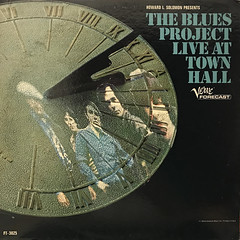 THE BLUES PROJECT:THE BLUES PROJECT LIVE AT TOWN HALL(JACKET A)
