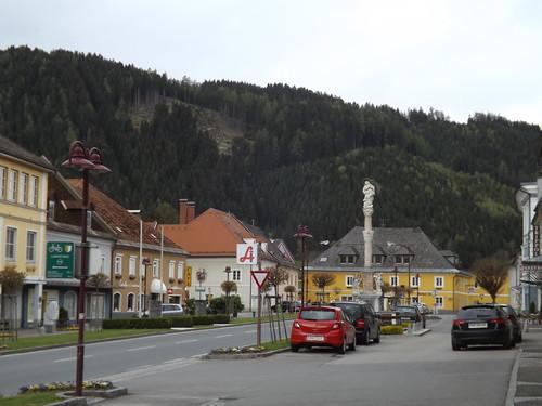 Hauptplatz, Bad St. Leonhard im Lavanttal, Austria