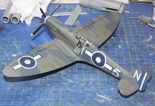 Supermarine Seafire Mk.IIIc., Airfix (konvertering), 1/48 43992799424_8749e3c35f