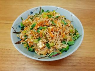 Sweet & Sour Brown Rice Salad