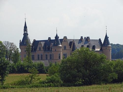 Castle near Florenville in Belgium