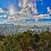top view hong kong