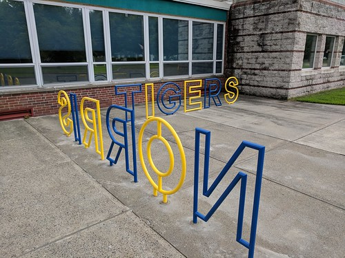 new school bike racks