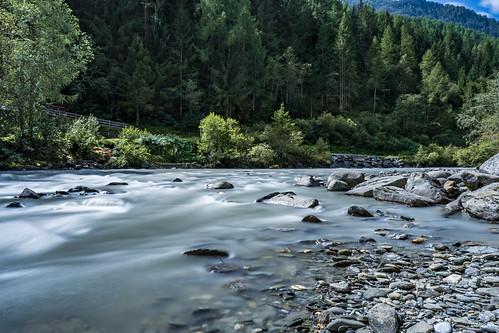 Long Exposure of Isel River