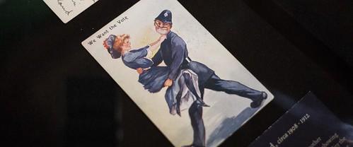 Anti Suffragette postcard  c.1908–1912
