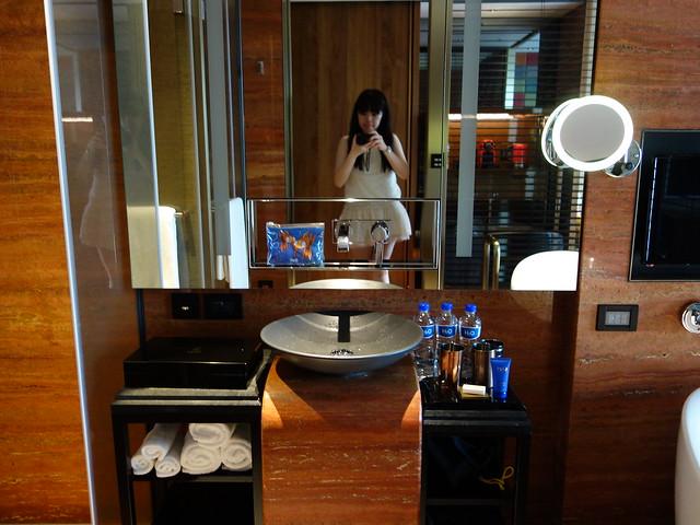 洗手台@高雄H2O水京棧國際酒店