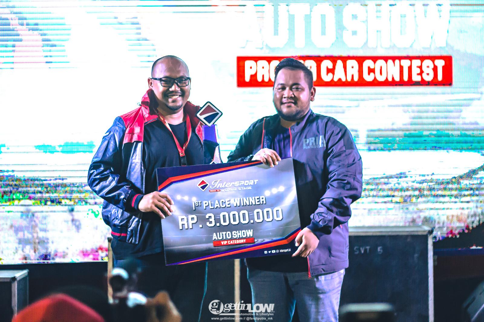 intersport autoshow proper car contest 2018 Bekasi