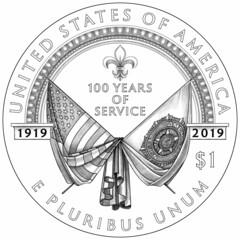 2019-american-legion-100th-anniversary-commemorative-silver-line-art-reverse