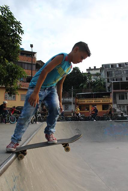 1° día. Skatepark