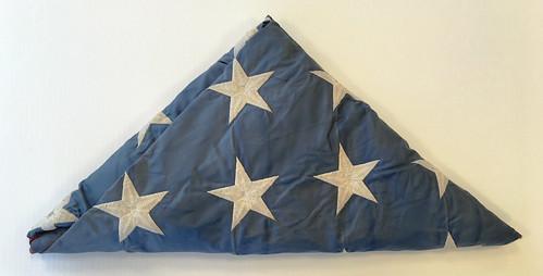 U.S. Flag, Damaged