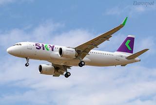 F-WWDY Airbus A320 Néo Sky