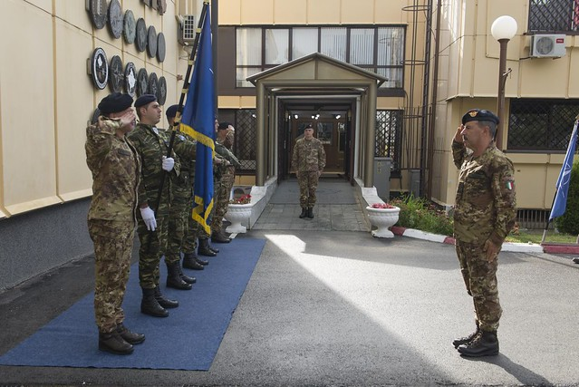 The Chief of the Italian Army General Staff visited KFOR