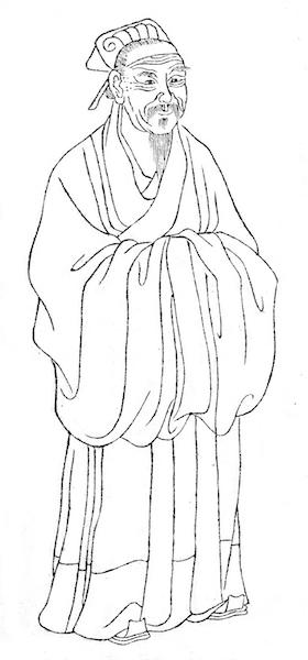 南宋理學家朱熹,程朱理學集大成者,學者尊稱朱子。(Wikipedia Commons)