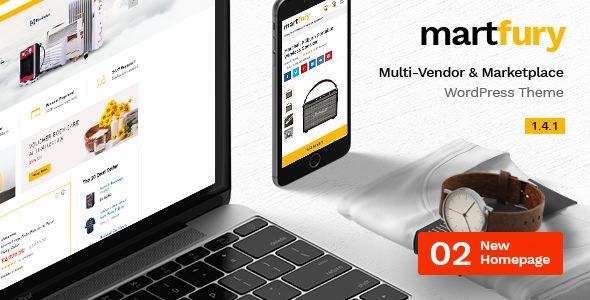 Martfury v1.4.1 – WooCommerce Marketplace WordPress Theme