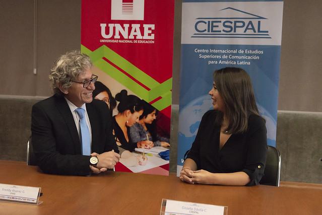 Convenio CIESPAL-UNAE