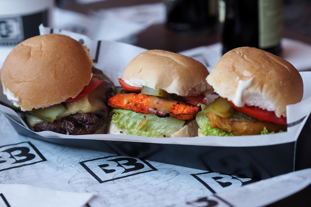 Burger Bhais Manchester Sliders