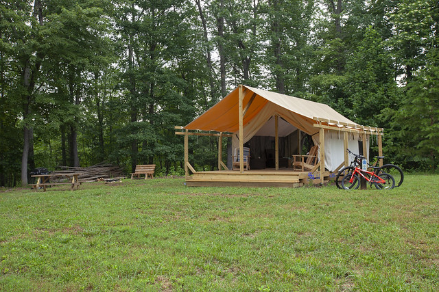 Explore Park - Canvas Tent Camping