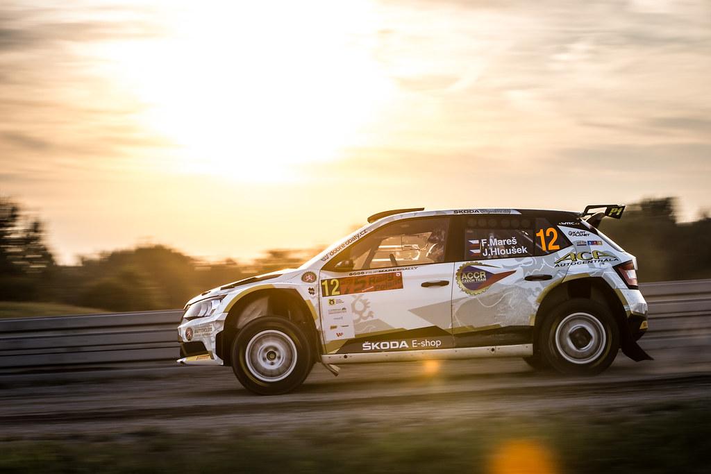 12 MARES Filip 5CZE), HLOUSEK Jan (CZE), ACCR CZECH RALLY TEAM, Skoda Fabia R5, action during the 2018 European Rally Championship Rally Poland at Mikolajki from September 21 to 23 - Photo Thomas Fenetre / DPPI