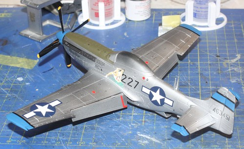 N.A. P-51D Mustang, Airfix 1/48 - Sida 4 29245119337_a24482b915