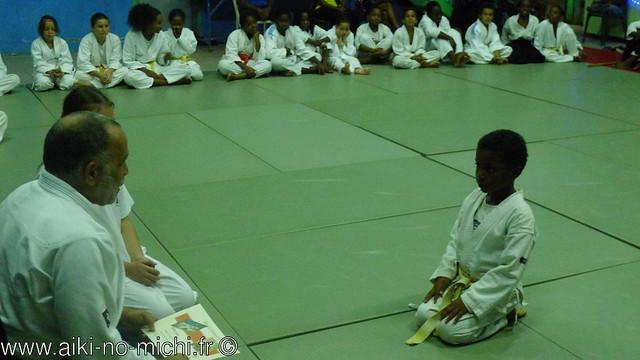Lissandro: 7 ans d'aïkido...