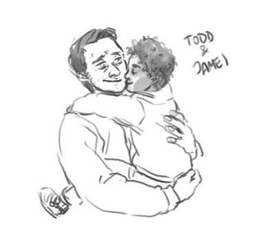 Todd and James Hug - (own)