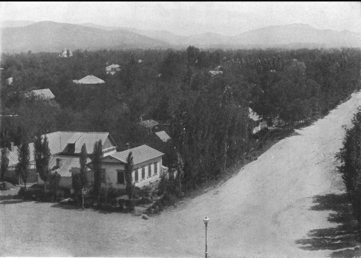 Большая Алматинская станица, 1895-1900