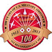The 100 year emblem of 1st Reconnaissance Squadron. (Photo/Air Force Historical Research Agency)