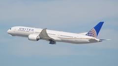 United Airlines Boeing 787 -9 DreamLiner N38950 DSC_0602
