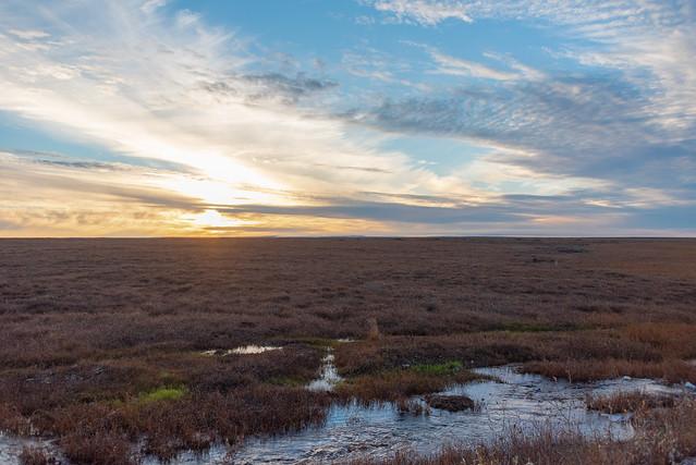 Dusk over Tundra