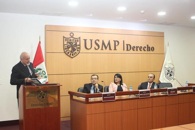 """Facultad de Derecho de la Universidad de San Martín de Porres presentó el libro """"Criminologías Específicas"""""""