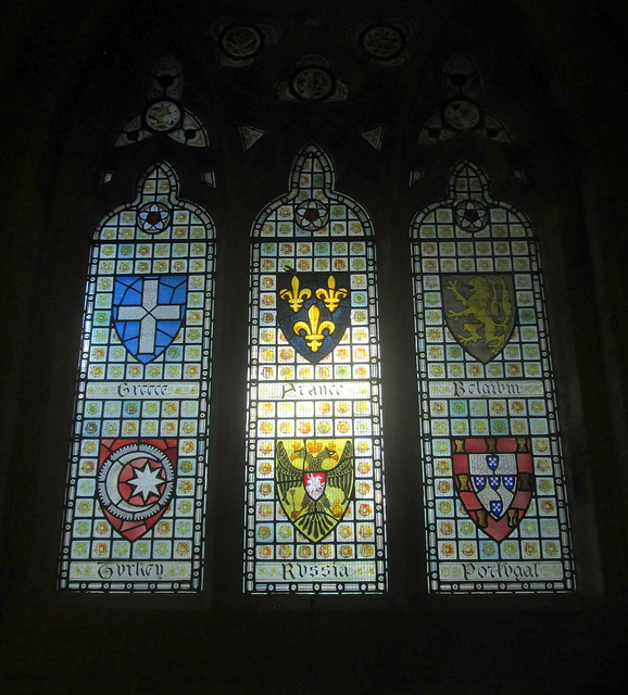Rochdale Town Hall, Stained Glass Windows 1