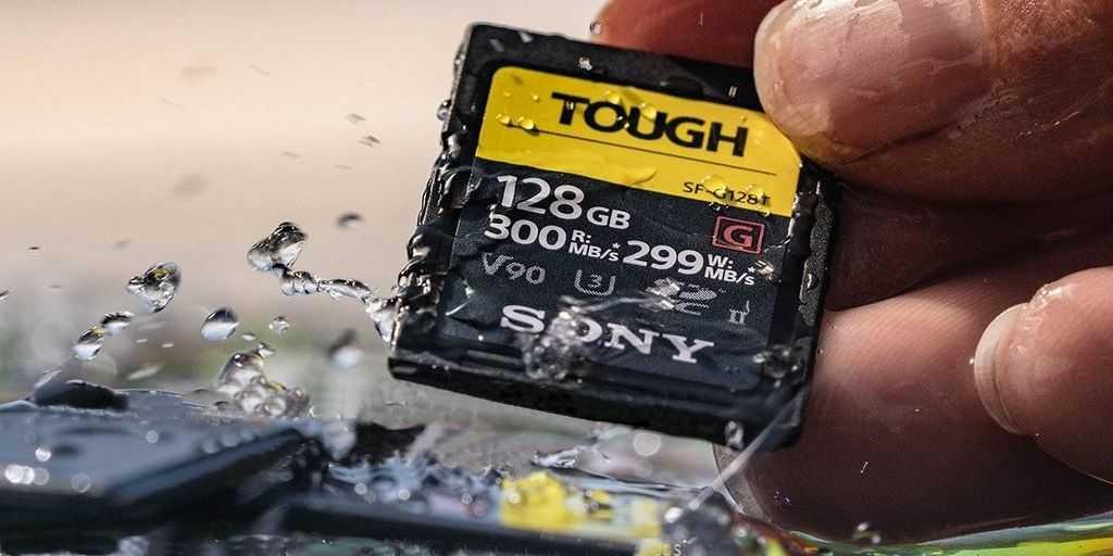 Sony dévoile ses nouvelles cartes SD Tough