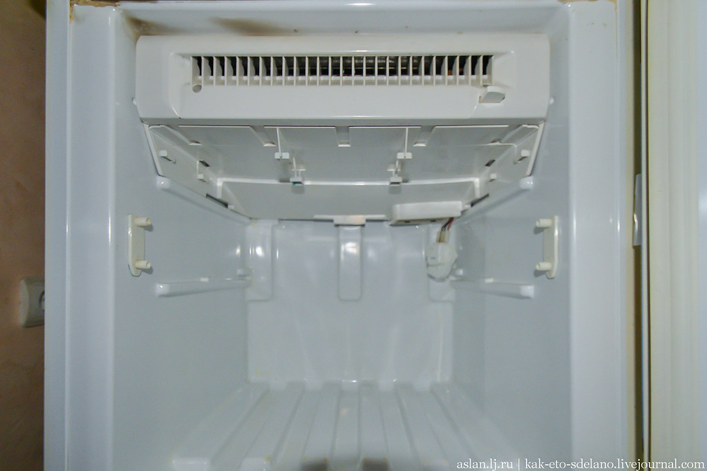 Как я чинил холодильник