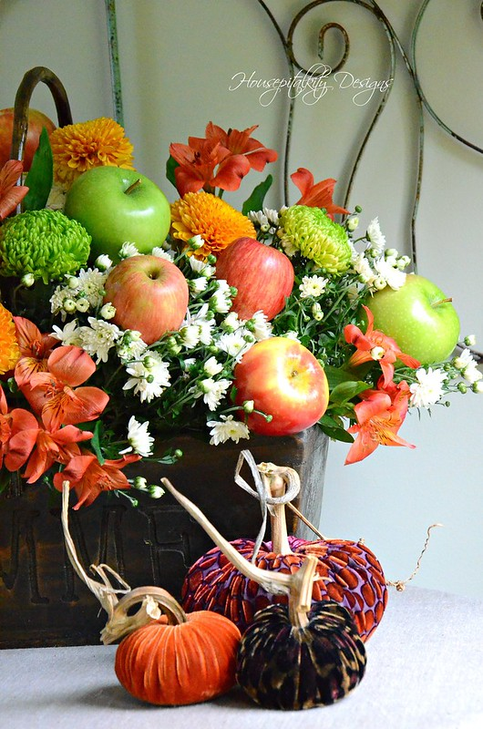 Fall Apple Centerpiece