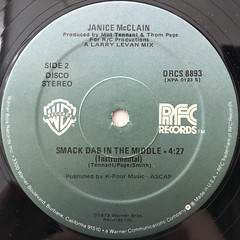 JANICE MCLAIN:SMACK DAB IN THE MIDDLE(LABEL SIDE-B)