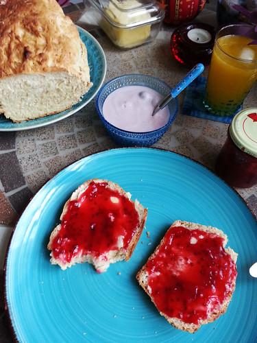 Handgemachtes Frühstück