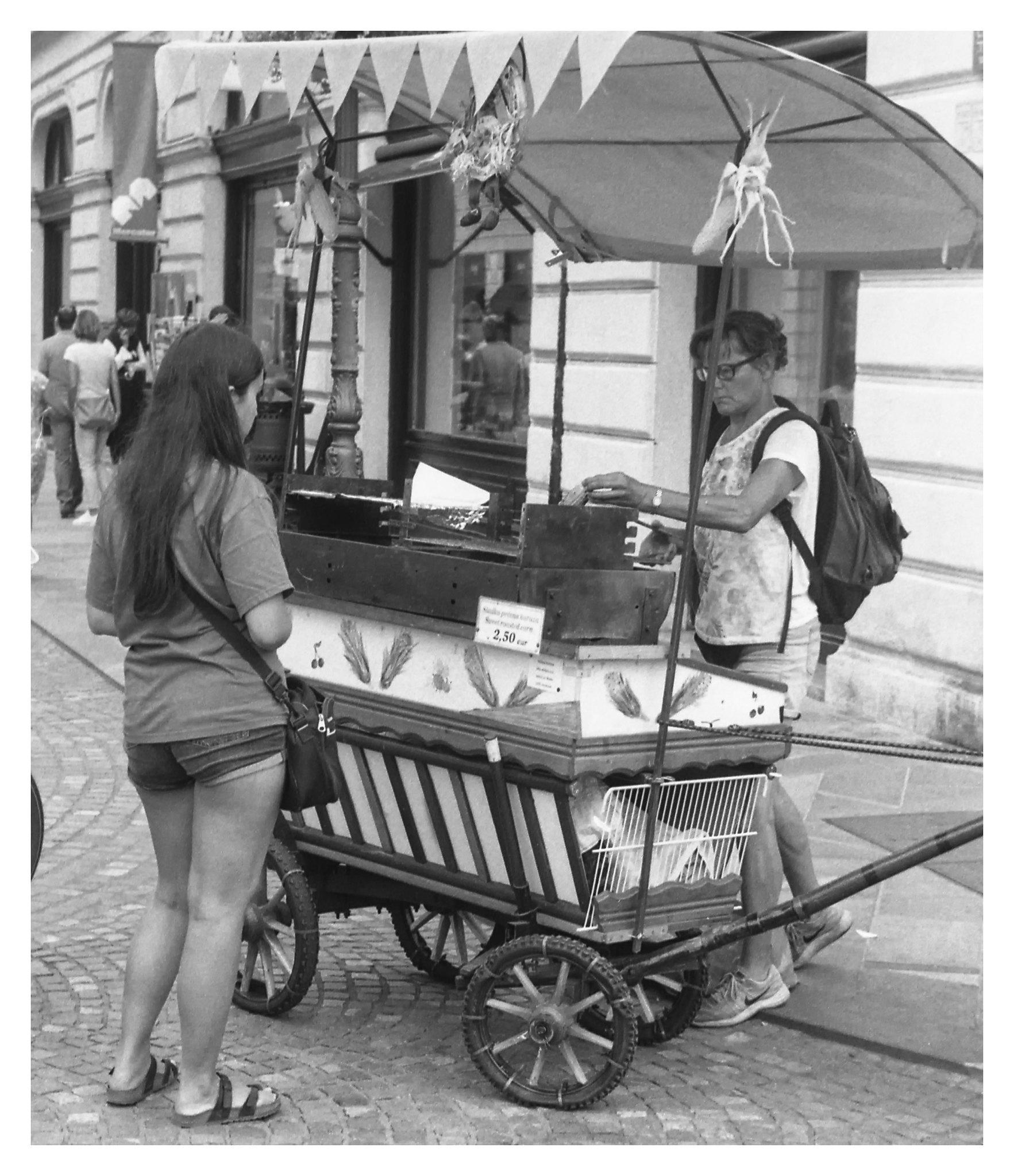 Ljublijana food stand