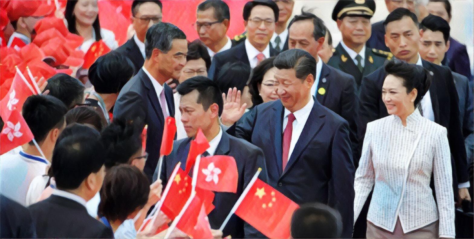 President Xi visits Hong Kong