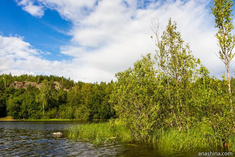Скала Руллалахденвуори, Ладожское озеро