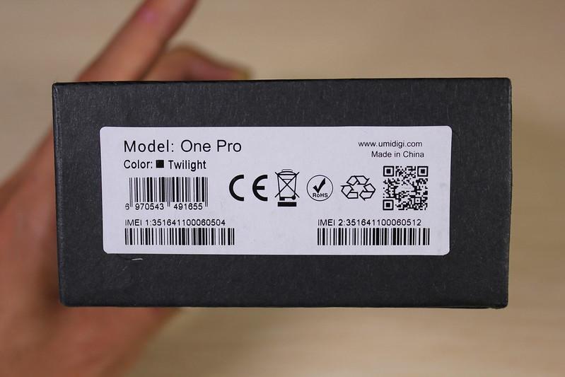 UMIDIGI One Pro 開封レビュー (3)