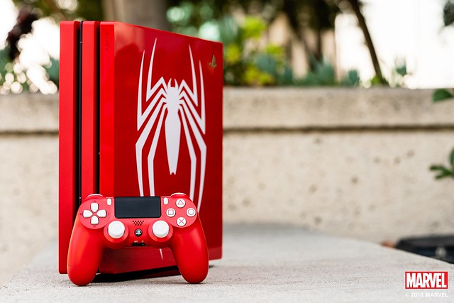 Limited Edition Marvel's Spider-Man PS4 Pro