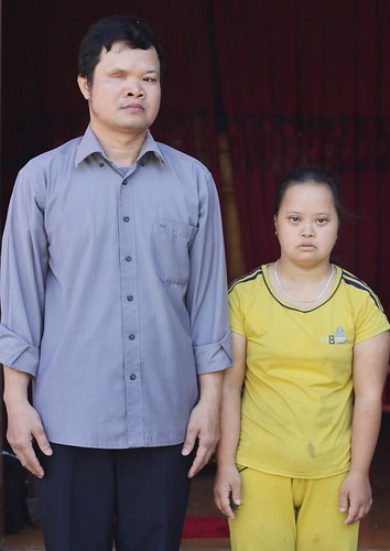 Portrait of Le Quoc Huong and Le Thi Hoa
