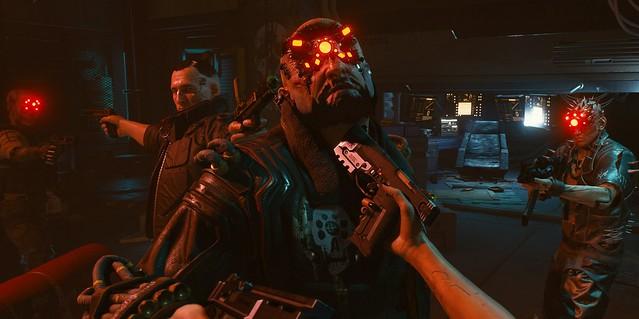 Cyberpunk 2077 - Mexican Standoff