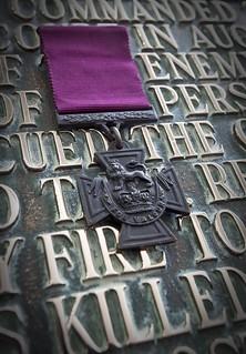 Tank Corps Victoria Cross exhibit