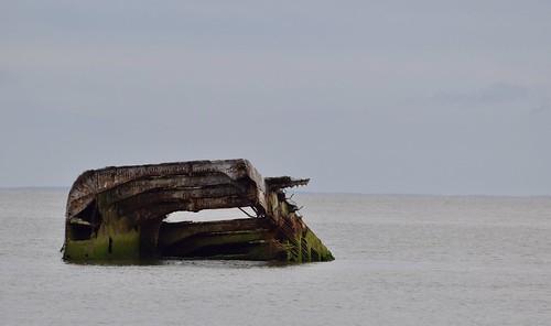 sunsetbeach sunk concrete ship newjersey ssatlantis