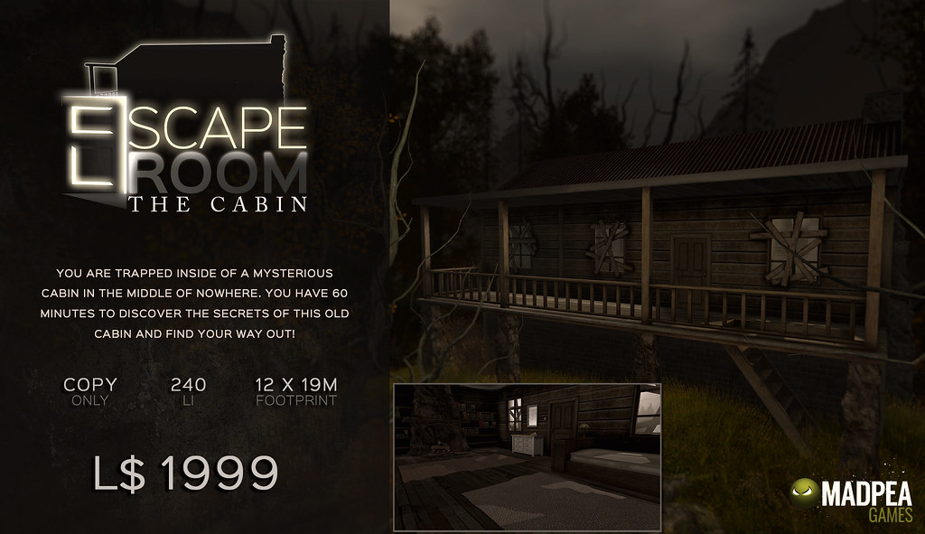 Escape Room – The Cabin
