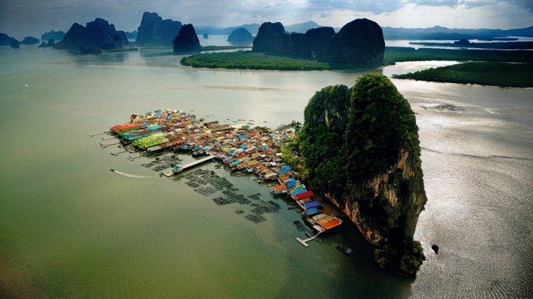pueblo flotante Koh Panyi