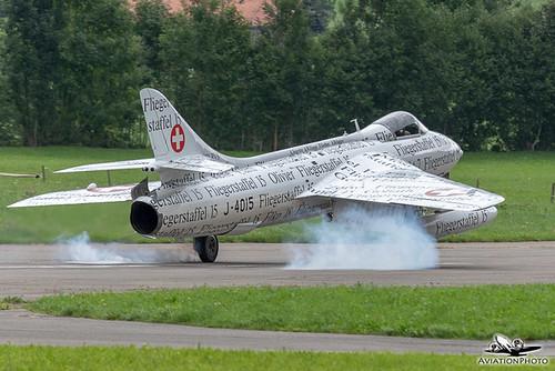 HB-RVS | Hunterverein Obersimmental | Hawker Hunter F.58